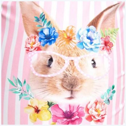Купальник слитный детский ZOGGS Tropical Bunny U Back