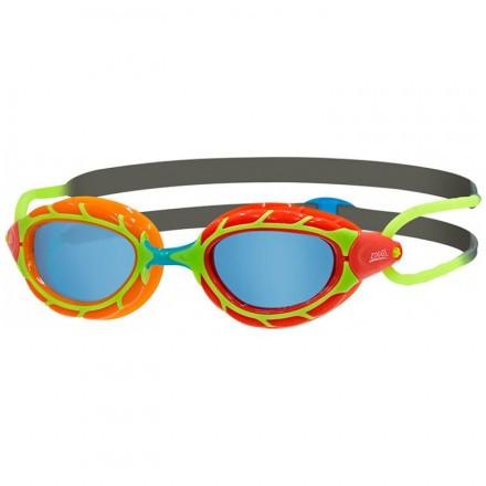 Очки для плавания детские ZOGGS Predator Junior (6-14 лет) Red/Orange - 3869