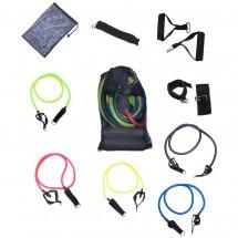 Эспандер многофункциональный 1213-12 Resistance band kit 5 жгутов