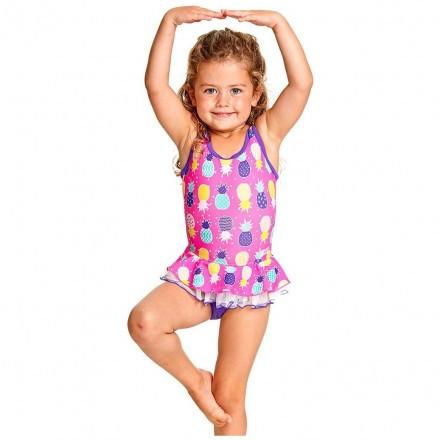 Купальник слитный детский ZOGGS Pine Crush Skirt Scoopback