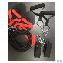 Комплект для сухого плавания (с лопатками, ручками, манжетами для ног)