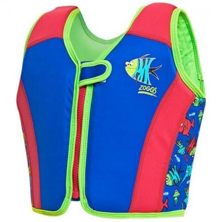 Жилет детский с поплавками для обучения плаванию ZOGGS Sea Saw Swimsure Jacket Kids