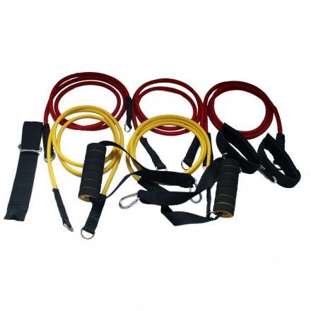Многофункциональный набор из 5 эспандеров 5000-02