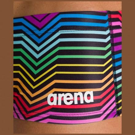 Плавки-шорты Arena Multicolor Stripes Low Waist Short