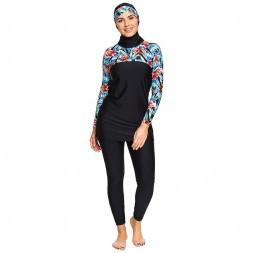 Купальник закрытый (мусульманский) буркини ZOGGS Hybrid Tropics Modesty Suit