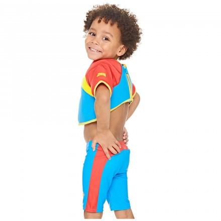 Топ детский с поплавками для обучения плаванию ZOGGS Superman Water Wings