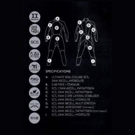 Гидрокостюм Orca 3.8 Enduro 2020 женский