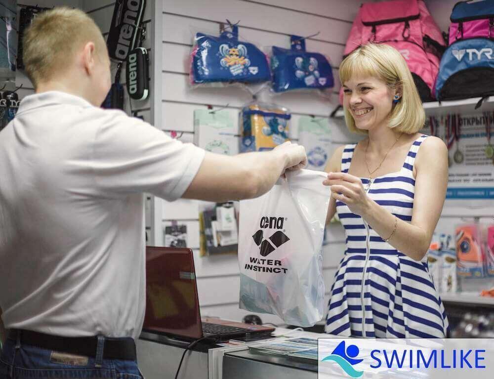 магазин товаров для плавания